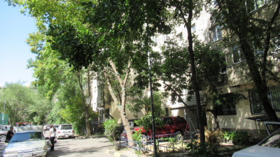 Алматы, р-н Алмалы, ул. Шевченко, уг. ул. Муканова 129